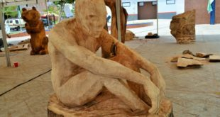 Foto: Simposio Internacional de Escultura 2016 | Kiosco Informativo