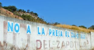 Foto: Pinta en Temacapulín   Eduardo Castellanos
