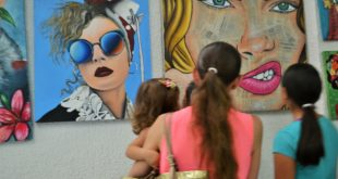 Foto: Exposición pictórica | Kiosco Informativo