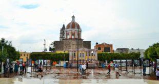 Foto: Plaza Cívica de Valle de Guadalupe | Kiosco Informativo