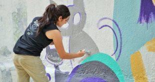 Foto: Mural, Labby Medrano | Eduardo Castellanos