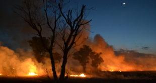 Foto: Incendio En Circuito Interior Juan Pablo II | Kiosco Informativ