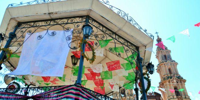 Foto: Kiosco en Plaza Principal de San José de Gracia, Jalisco | Eduardo Castellanos