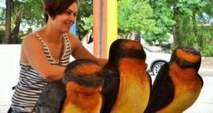 Foto: Diana Villaseñor (escultora)   Kiosco Informativo